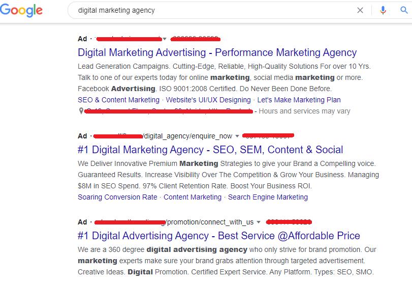 paid ads
